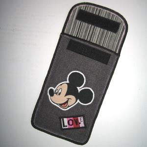 Mobiltok  Plus-os méretű telefonokhoz  Mickey egér - táska & tok - pénztárca & más tok - telefontok - Meska.hu