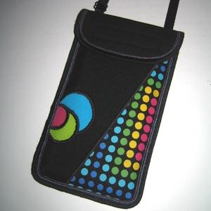 Mobiltok állítható pánttal  XL telefon tartó Nyakba akasztható kistáska, Táska & Tok, Pénztárca & Más tok, Telefontok, Varrás, Mindenmás, Meska