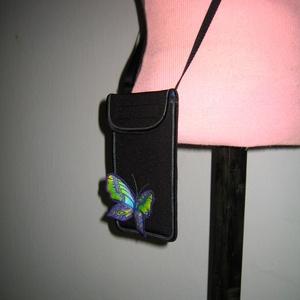Telefontok 3D lepkés XL mobiltartó állítható pántos 2in1 mobiltok pillangós  , Táska & Tok, Pénztárca & Más tok, Telefontok, Varrás, Mindenmás, Meska