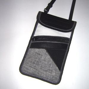 Telefontok kártyatartó kis zsebbel Nyakba akasztható elegáns kistáska  , Táska & Tok, Pénztárca & Más tok, Telefontok, Varrás, Meska