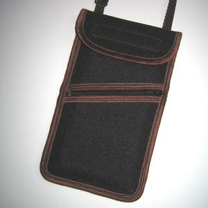 Esőálló zsebes mobiltok  Plus-os méretű telefonokhoz  állítható pántos kistáska - Meska.hu