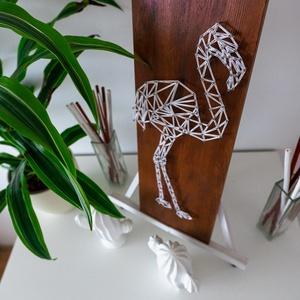 Flamingó - String Art (ModernStringArt) - Meska.hu