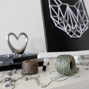 Macska - String Art (ModernStringArt) - Meska.hu