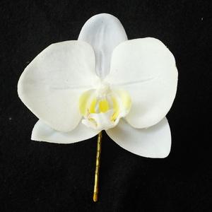 Nagy orchidea hajdísz (Mogiboltja) - Meska.hu