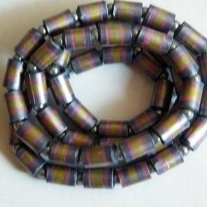 Színjátszó nyaklánc újrahasznosított papírból, Ékszer, Medál nélküli nyaklánc, Nyaklánc, Ékszerkészítés, Újrahasznosított alapanyagból készült termékek, Meska