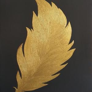 Absztrakt dekorációs akrilfestmény, 54 cm x 46 cm, Otthon & Lakás, Dekoráció, Kép & Falikép, Festészet, Meska