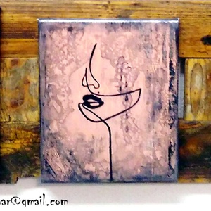 Elegánsak , Otthon & lakás, Képzőművészet, Festmény, Otthonodban szépet, egyedit, nyugalmasat, kézzel festett és fúrt - faragott :) alkotást készítettem ..., Meska