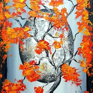 Kámea világ , Akril, Festmény, Művészet, Festészet, Szép hangulatú, nyugalmat adó festésem ez az akrillal készült fantázia táj :) \n\n30 x 40 cm-es feszít..., Meska