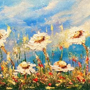 Rétes, Akril, Festmény, Művészet, Festészet, Egyedi akril festés, színek, hangulatok, textúrák, dísze lehet a lakásodnak:)\n\n32x 72 cm-es farostra..., Meska
