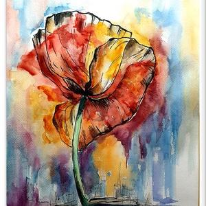 Virág a város felett  - Meska.hu