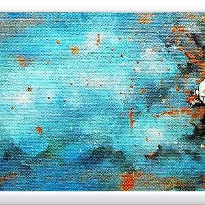 Aranyhal , Művészet, Festmény, Akril, Festészet, Egyedi ötlet és eredeti kézi festés, igazán érdekes méretű felületen, arany hangulatban :) \n\n14 x 69..., Meska