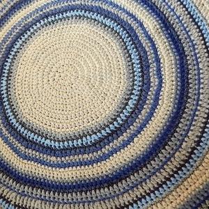 Horgolt   szőnyeg /  Mandala  (Molylepke) - Meska.hu