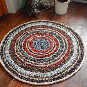 Horgolt   szőnyeg  (Molylepke) - Meska.hu