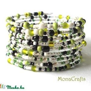 Fresh Lime - 10 soros memóriakarkötő (MonaCrafts) - Meska.hu