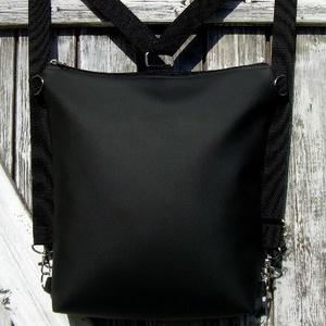 CITY BAG HÁTIZSÁK/OLDALTÁSKA : Basic 1., Táska & Tok, Hátizsák, Hátizsák, Sokak kérésére mostantól végre készülnek olyan táskák is, amik oldaltáskák és hátizsákok is lehetnek..., Meska