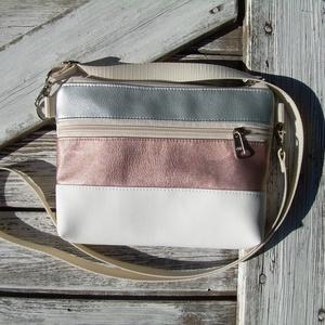 MINI CITY BAG : Nyári elegancia 1., Táska & Tok, Vállon átvethető táska, Kézitáska & válltáska, Varrás, Meska