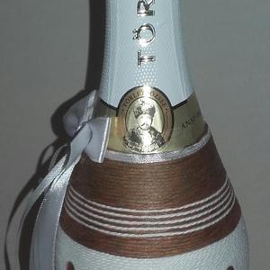Ballagásra díszüveg, Ballagás, Ünnepi dekoráció, Dekoráció, Otthon & lakás, Dísz, Mindenmás, A termék monika1978 felhasználónak készül.\nAz ár tartalmazza a vásárolt üveg árát is.\n\nAmennyiben te..., Meska