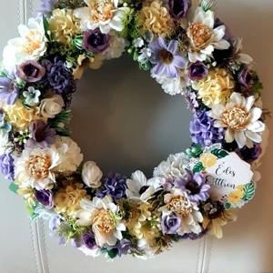 Tavaszi, nyári ajtó kopogtató, Otthon & Lakás, Dekoráció, Ajtódísz & Kopogtató, Mindenmás, Meska