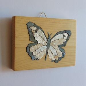 Pillangó falikép (monstone) - Meska.hu