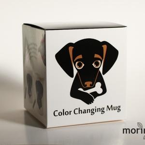 Lola kutya (hőre változó, hőérzékeny bögre) (Moringa) - Meska.hu
