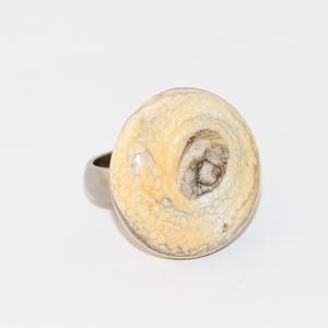 Minden napra egy gyűrű ! - ezüst fóliás (MoroBarbaraGlass) - Meska.hu