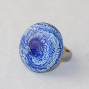 Minden napra egy gyűrű ! - farmerkék 2. (MoroBarbaraGlass) - Meska.hu