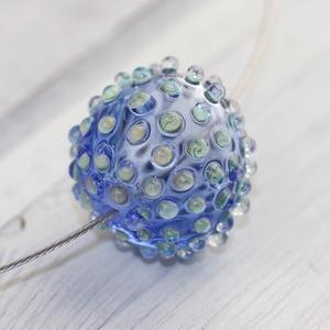 Bubble hollow bead- egyedi üveggyöngy sodronyon (MoroBarbaraGlass) - Meska.hu