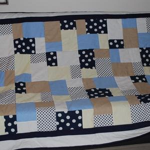 Patchwork takaró, Otthon & Lakás, Ágytakaró, Lakástextil, A képen látható takaró nem eladásra készült, azonban ha elnyerte tetszésedet szívesen készítek hason..., Meska