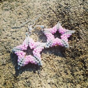 Csillag lánc és fülbevalók (MsMengele) - Meska.hu