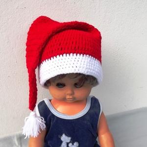 Karácsony/Christmas! Mikulás sapi, Táska, Divat & Szépség, Sál, sapka, kesztyű, Ruha, divat, Sapka, Horgolás, Karácsony/Christmas!\nMikulás sapi!\n\nHorgolt mikulás sapka gyermekeknek és gyermek lelkű felnőtteknek..., Meska