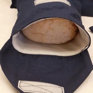 NOWASTE! Navy kék boríték szalvéta , NoWaste, Textilek, Kendő, Varrás, NOWASTE! Navy kék boríték szalvéta \n\nÓvjuk környezetünket, minél többen használjunk újra használható..., Meska