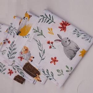 ZEROWASTE! Textil szalvéta 4 db, Táska & Tok, Uzsonna- & Ebéd tartó, Szendvics csomagoló, Varrás, Meska