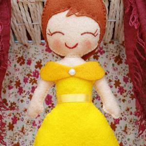 Hercegnő (filc hercegnő) - Meska.hu