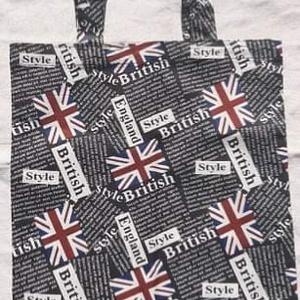 Angol feliratos, zászlós vászonszatyor, NoWaste, Bevásárló zsákok, zacskók , Textilek, Táska, Divat & Szépség, Táska, Szatyor, Varrás, Angol feliratos, zászlós vászonból készült szatyor.\n\nHossza: 38 cm\nSzélessége: 29 cm\nFüle: 48 cm, me..., Meska