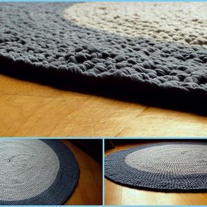Tek-tek Horgolt Szőnyeg---Sűrű minta, Szőnyeg, Lakástextil, Otthon & Lakás, Horgolás, Tek-tek horgolt szőnyeg!\n\nPortugál pamutfonalból készült szőnyeg.\nRendelésre készítek hasonlót!\n\nA s..., Meska