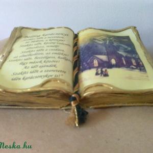 Antik díszkönyv (murschike) - Meska.hu