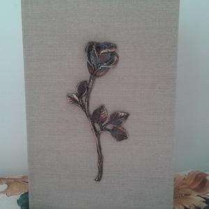 Rózsa veretes fotókönyv (murschike) - Meska.hu
