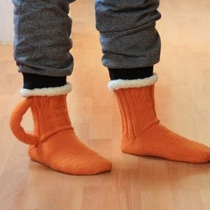 Söröskorsó zokni, Zokni, Cipő & Papucs, Ruha & Divat, Kötés, Söröskorsó alakú zokni.  42-43 méret. Rendelésre más méretben is elkészíthető.\n, Meska