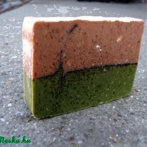 Vörösagyagos-chlorella algás kecsketejszappan 140 gr (Nadler) - Meska.hu