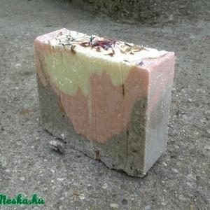 Levendulás zsályás kókusztejszappan shea-,kakaó- és bio kókuszvajjal 150 gr (Nadler) - Meska.hu