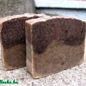 Biokávés biokókusztejes szappan sheavajjal és szantál illattal (Nadler) - Meska.hu