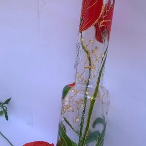 Táncoló pipacsok váza (nagyfanyuvo) - Meska.hu