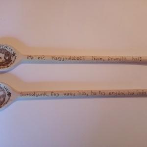 Bud Spencer-Terence Hill fa kanál szett, Férfiaknak, Konyhafőnök kellékei, Konyhafelszerelés, Otthon & lakás, Famegmunkálás, Gravírozás, pirográfia, Bud Spencer- Terence Hill fa kanál szett egy egyedi rendelésre készült egy kedves megrendelőnek. A l..., Meska