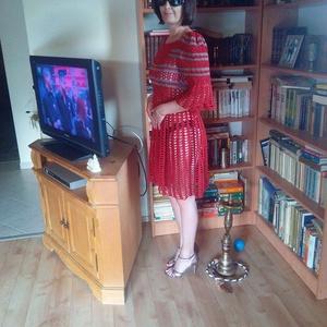 Romantikus nyári horgolt ruci, Táska, Divat & Szépség, Női ruha, Ruha, divat, Ruha, Horgolás, 100% extra finom pamutból készült ez a ruha, egy visszatérő vásárlóm részére.\nMérete S-M, de bármily..., Meska