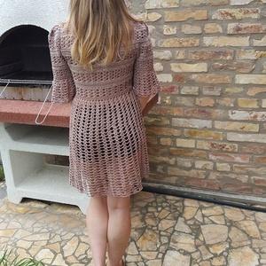 Romantikus horgolt ruha a színek árnyalataiban (nagyikotodeje) - Meska.hu