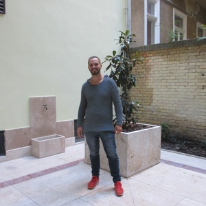 Trendi férfi pulóver - Meska.hu