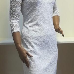 Csipke ruha fehér, Táska, Divat & Szépség, Női ruha, Ruha, divat, Ruha, Varrás, Ingyenes szállítás.\nTrendi -elegáns -nőies.\nGyönyörű rugalmas csipke.\nKellemes lágy anyagból.\nEnyhén..., Meska