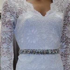 Csipke ruha polgári esküvőre, Ruha, Női ruha, Ruha & Divat, Varrás, \nPolgári esküvőre. Trendi -elegáns -nőies.\nGyönyörű rugalmas csipke.\nKellemes lágy anyagból.\nEnyhén ..., Meska