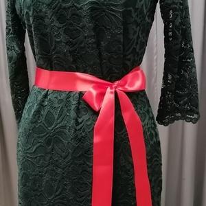 Csipke ruha sötétzöld. , Ruha, Női ruha, Ruha & Divat, Varrás, Sötétzöld csipkeruha.\nTrendi -elegáns -nőies.\nGyönyörű rugalmas csipke.\nKellemes lágy anyagból.\nEnyh..., Meska