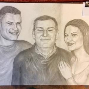 1 fős portré, karikatúra - egyedi ajándék (Nana83) - Meska.hu